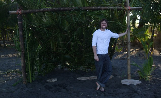 Naive: Matthew Butler volunteered at what he thought was an animal sanctuary Costa Rica in 2009