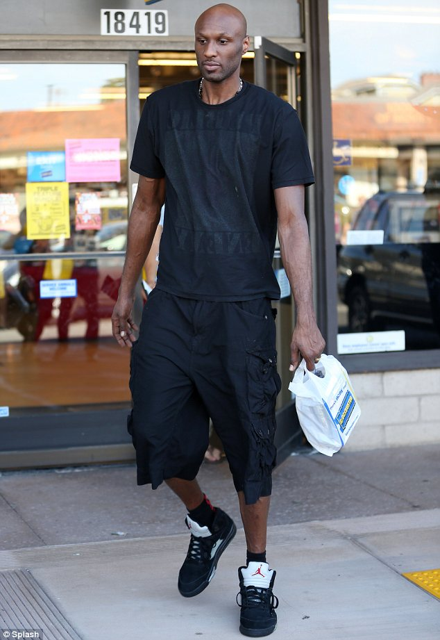 In treatment?: It has also been alleged that Lamar, seen at Blockbuster on August 31, has entered an outpatient program