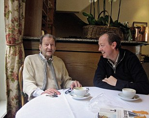 Lucian Freud and Geordie Greig from 'Breakfast with Lucian by Geordie Greig'