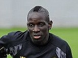 £18million: Mamadou Sakho has been training for Liverpool but will stay at home rather than travel to Swansea