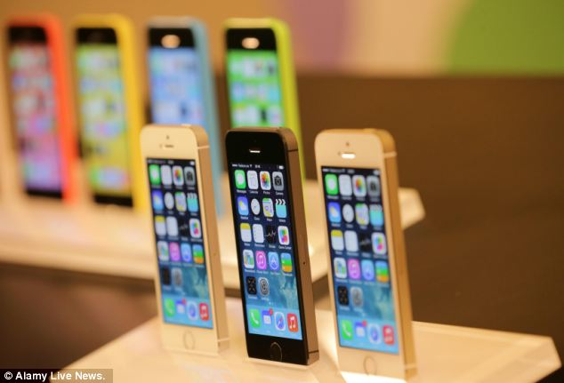Worth the wait? Apple's new iPhone 5S (front) and iPhone 5C (back) have been eagerly awaited by fans. Only details for the 5C have been released, with prices and features for the 5S expected to be announced on Friday
