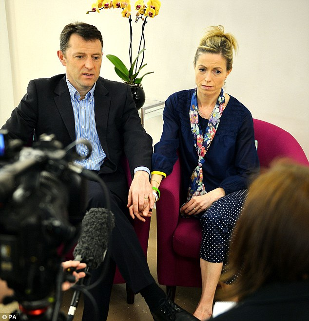 Kate McCann and Gerry McCann, pictured in interview in London this spring, launched £1million libel proceedings against Goncalo Amaral
