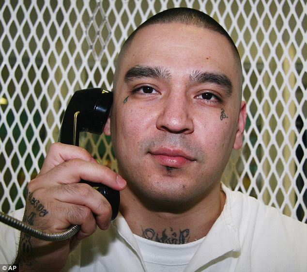 Executed: Robert Gene Garza, 30, was killed by lethal injection on Thursday after being sentenced to death row for organizing the killing of four women in 2002