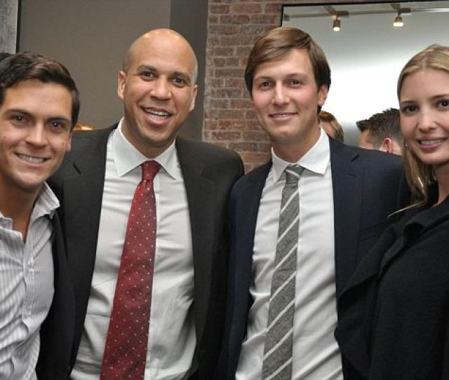 In 2013 Kushner Bundled Money For Bookers Senate Campaign Hosting A Fundraiser For The Candidate In Kushners Penthouse At Trump Park Avenue