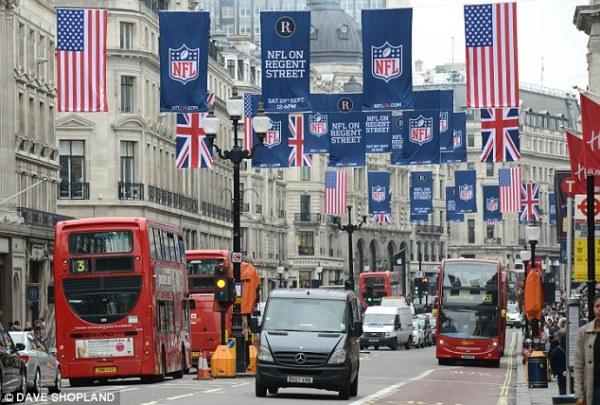 Wembley keen on hosting NFL's Super Bowl   Daily Mail Online