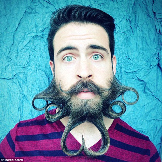 Mr Incredibeard San Francisco Man Creates A Beard Blog