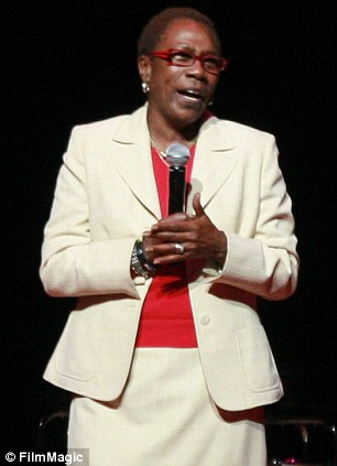 Lawsuit filed: Afeni Shakur, shown in 2011 in Atlanta, has filed a lawsuit seeking royalties from an album released posthumously following the 1996 death of her son rapper Tupac Shakur, shown in 1994