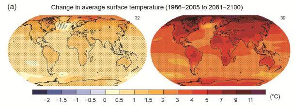 La temperatura del mar