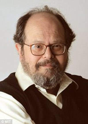 Amused: MIT climate professor Dr Richard Lindzen blasted the IPCC report, calling it 'hilariously incoherent'