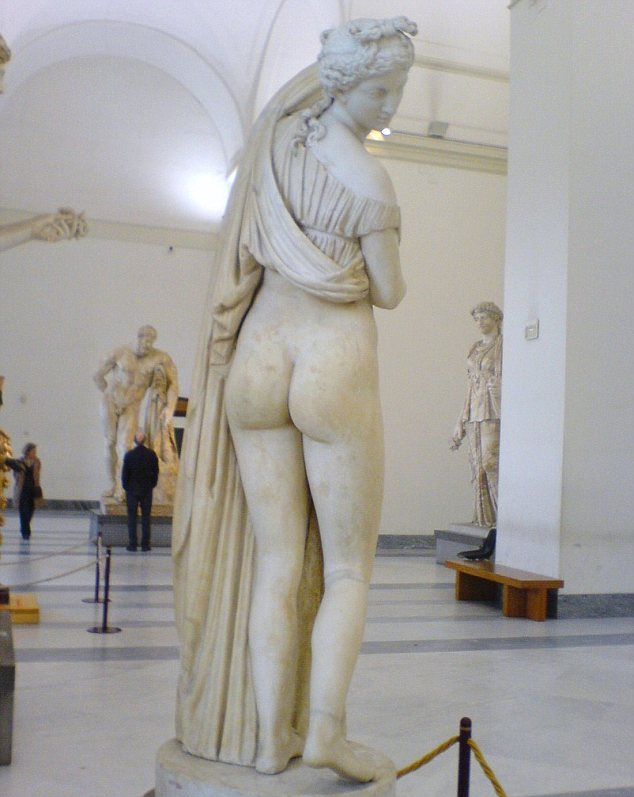 Commonplace: Nude statues and paintings were considered normal in ancient Rome, but later generations were scandalised by them
