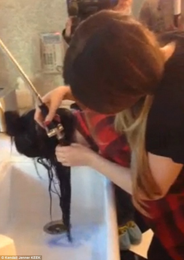 Khloe Kardashian Gives Little Sister Kylie Jenner A Punk