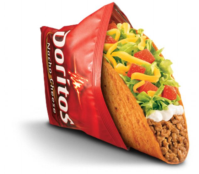 Sublime: The tangy Doritos taste helped make Taco Bell's Dorrito Locos into one the chain's most successful products ever