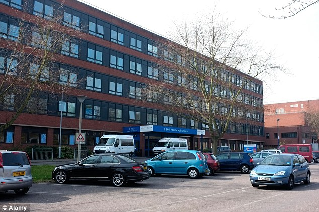 'Imminent health risk': Inspectors at Queen Mary's Hospital, Sidcup, found a cockroach infestation and mouse droppings