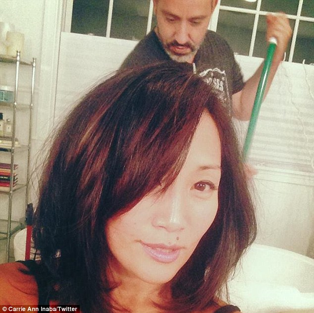 Dancing With The Stars Judge Carrie Ann Inaba Shows Off