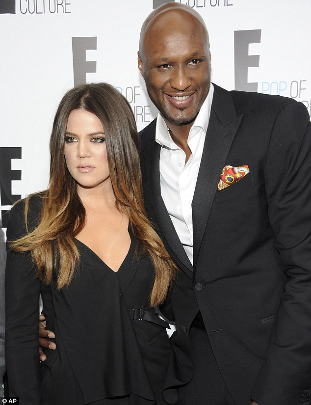 Not what she needs right now: Lamar will have surely caused Khloe embarrassment by following the seedy site