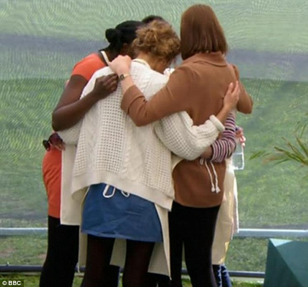 Image result for the great british baking show hugging