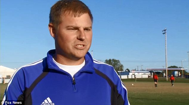'Good luck': Brian Durban, varsity coach for Olden County High School Boys Soccer, said his teams are now having to shake hands before the game instead