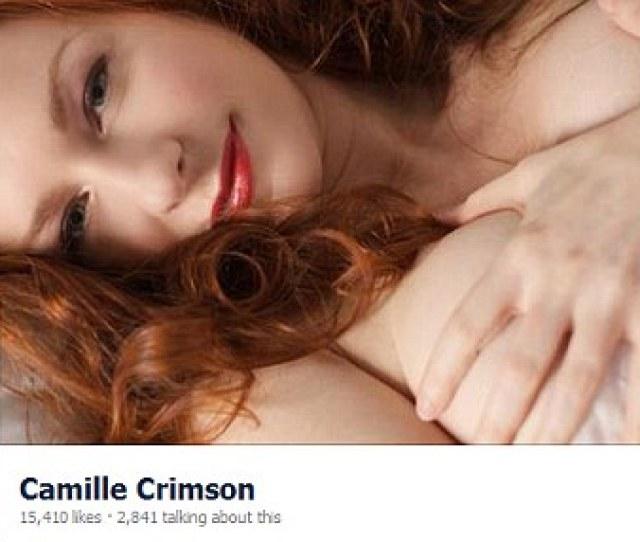 Seductive Flame Haired Porn Star Camille Crimson