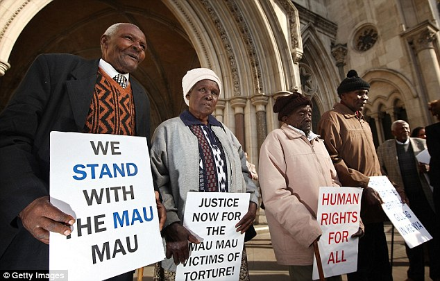 Up for the fight: Caricom has hired British law firm Leigh Day, which recently won compensation for Kenyans tortured by the British colonial government during the Mau Mau rebellion of the 1950s (above)