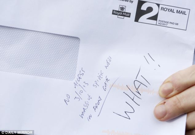Postman Refuses To Deliver Letter Because Of A Massive