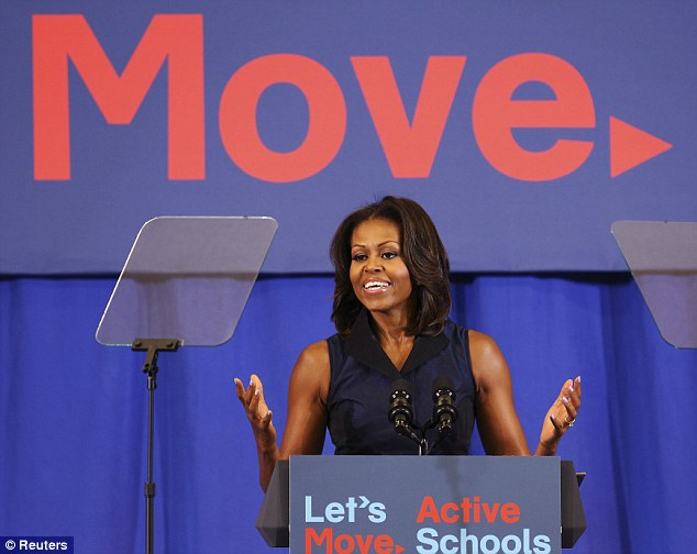 Ideas: U.S. First Lady Michelle Obama developed the Let's Move Program to solve the epidemic of childhood obesity within a generation
