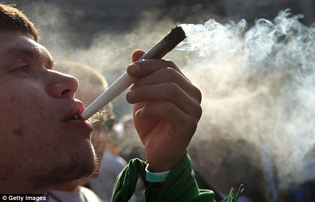 Smoke-free: The proposal could make it illegal for people to smoke on private property as well