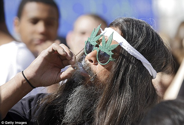 Illegal: Denver is considering making it illegal to smoke marijuana in public places