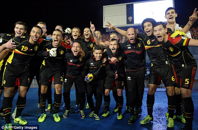 Image result for belgium qualified for brazil