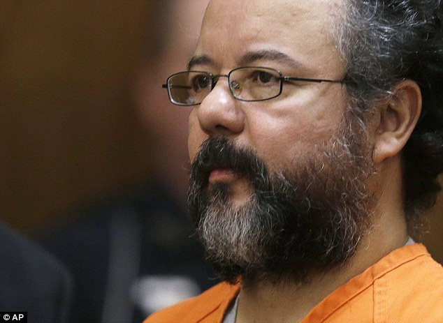 An evil man: Ariel Castro in the courtroom during the sentencing phase, the last time he was seen alive in public