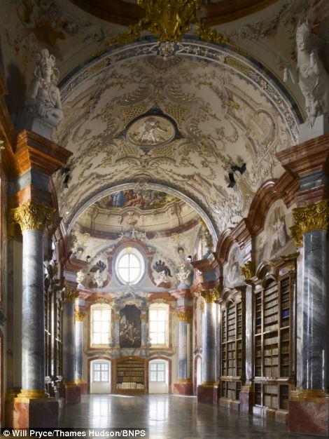 Altenburg Abbey Library, Altenburg, Austria