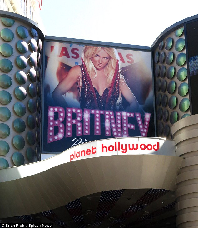 Does not bode well: The 31-year-old's upcoming two year stint at Planet Hollywood in Las Vegas is plagued by rumours that she will be 'lip-syncing'