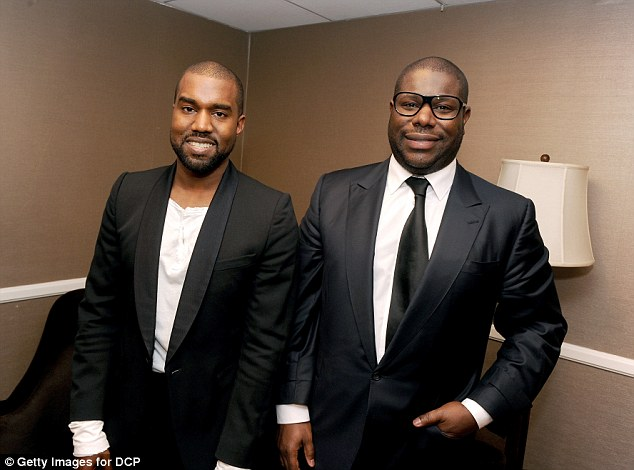 Got you! Kanye surprised director Steve McQueen with a special honor during the ceremony