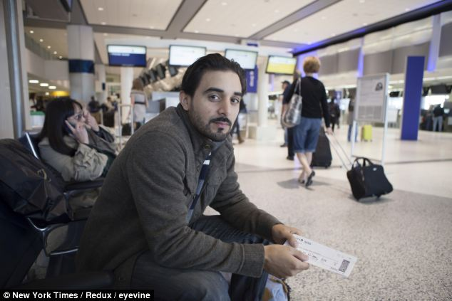 Scrutiny: Abdulla Darrat, who said he is singled out for extra security when he flies. The TSA is expanding its screening of travelers before they arrive at the airport by searching government and private databases
