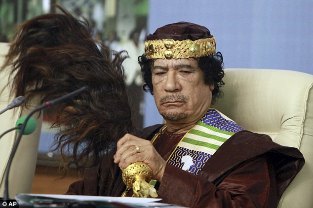 Sham: In public, Gaddafi claimed to have women's rights at his heart. In 1981, he said that he had decided 'to wholly liberate the women of Libya in order to rescue them from a world of oppression and subjugation'