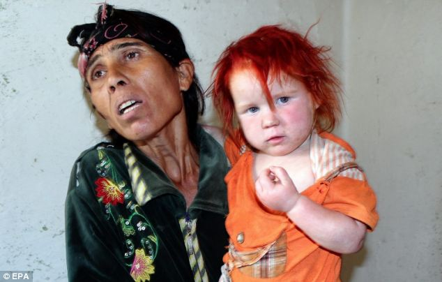 The Bulgarian Roma woman believed to be the real mother of the Maria said: 'I want her back.'
