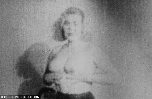 Mystery: According to Penthouse, a Swedish photographer had uncovered a previously unknown film appearance by a young Marilyn Monroe - but it has never been proved to the tragic Hollywood star