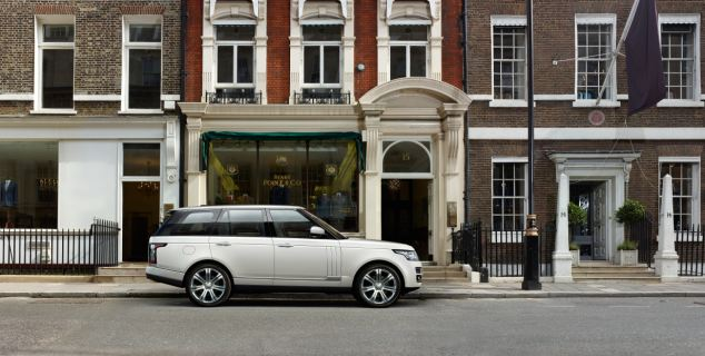 Range Rovers are already used by a host of the rich and famous, including Daniel Craig, Brad Pitt, and Prince William