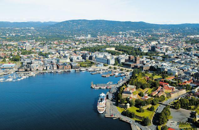Тойен, престижный район столицы Норвегии Осло
