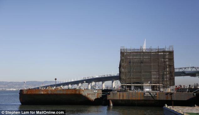 A barge built