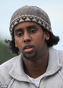 On the run: Mohammed Ahmed Mohamed is being hunted by counter-terrorism officers