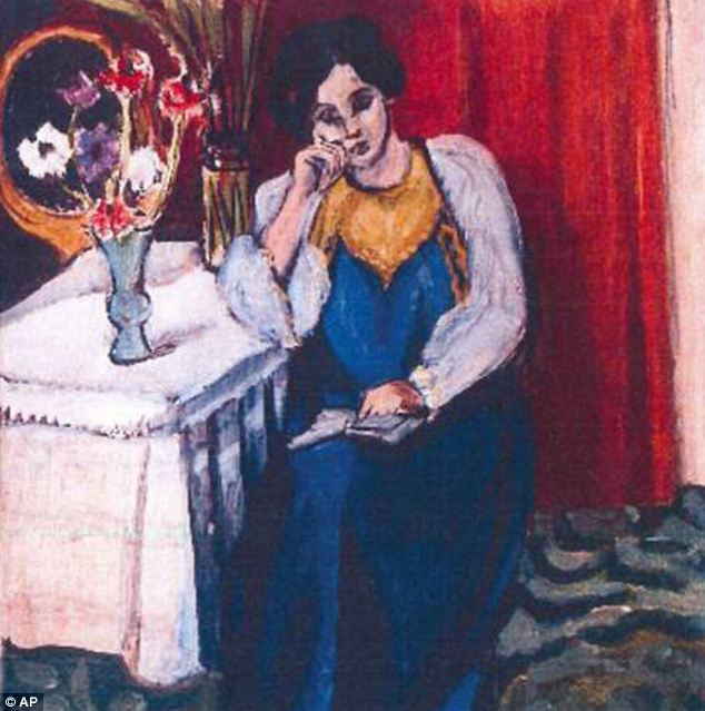 Matisse: Art historians are excited about the discovery of a painting by Matisse of a young woman like this
