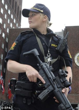 Norwegian police have said a knife-wielding man has hijacked a bus in Stabvanger and and killed three people including the vehicle's driver (file picture)