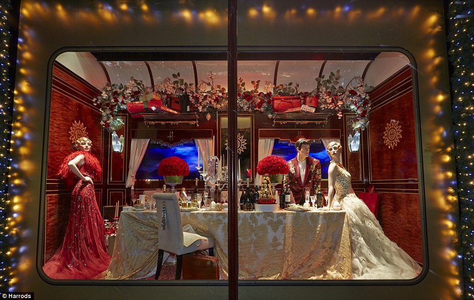 Festive Feast For The Eyes From Harrods To John Lewis