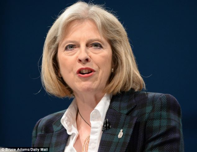 Admission: Theresa May was forced to admit inadvertently misleading Parliament when she said on Monday police had seized the fanatic's travel document. In fact, officers were never able to find one