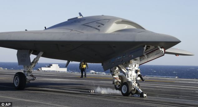 Unmanned X 47b Aircraft Can Fly At Subsonic Speeds Using
