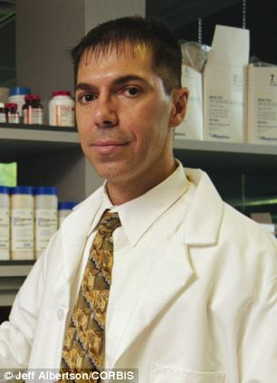 Professor Robert Lanza's, pictured, theory is explained in his book Biocentrism