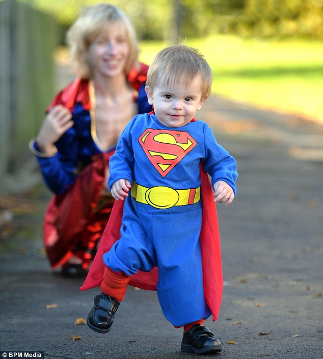 Superbaby: Jonathon was born in five minutes and could walk and talk by the time he was seven months old