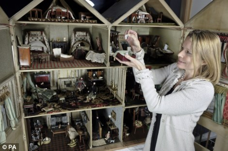 A spokesperson for Chorley's said: 'Almost all the toy collection is in original condition and was collected to create a toy museum, which unfortunately never happened'