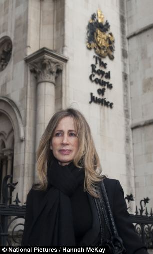 This isn't over: Speaking outside court today Michelle Young said she was furious and branded the judgment 'disgraceful'