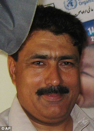 Hero: Shakil Afridi, the doctor who helped the CIA track down Osama bin Laden, was accused of dubious murder charges by Pakistan on Friday
